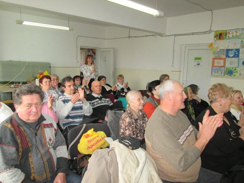 8 martie la Centrul de zi pentru vârstnici Confecţii