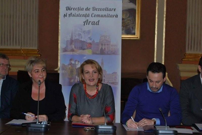 """DDAC Arad a celebrat """"Ziua Mondială a Asistenţei Sociale"""""""