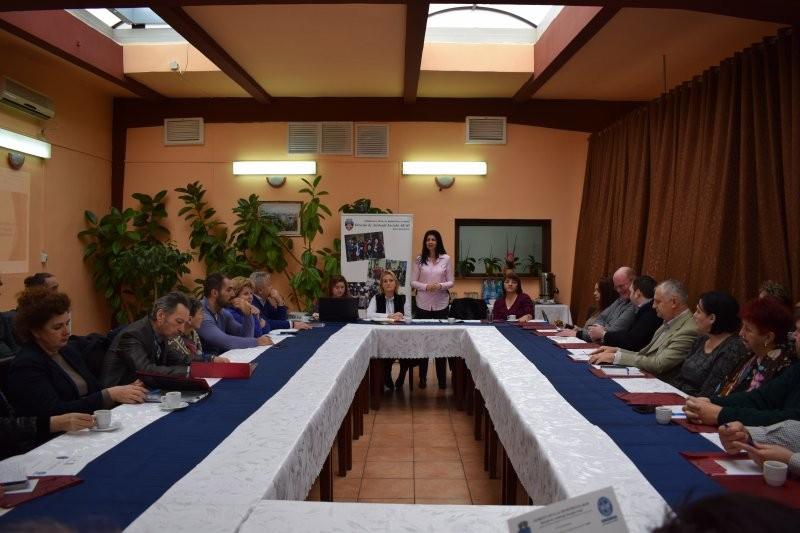 Întâlnire de lucru cu ONG-urile arădene la DAS Arad