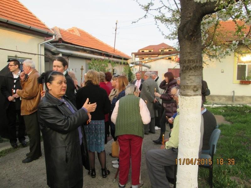 Slujba de Inviere la Centrul de îngrijire persoane vârstnice Arad