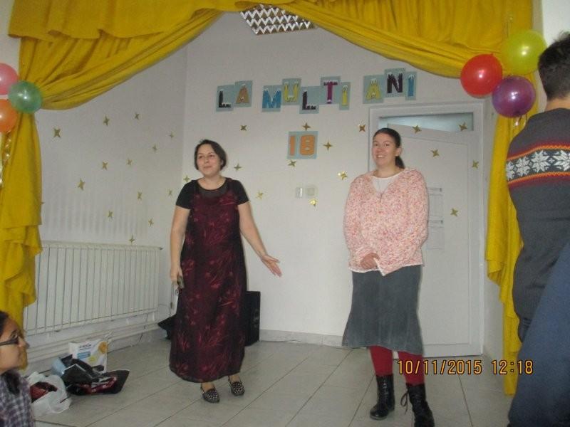 Aniversare de 18 ani la Centrul de zi pentru vârstnici Aradul Nou