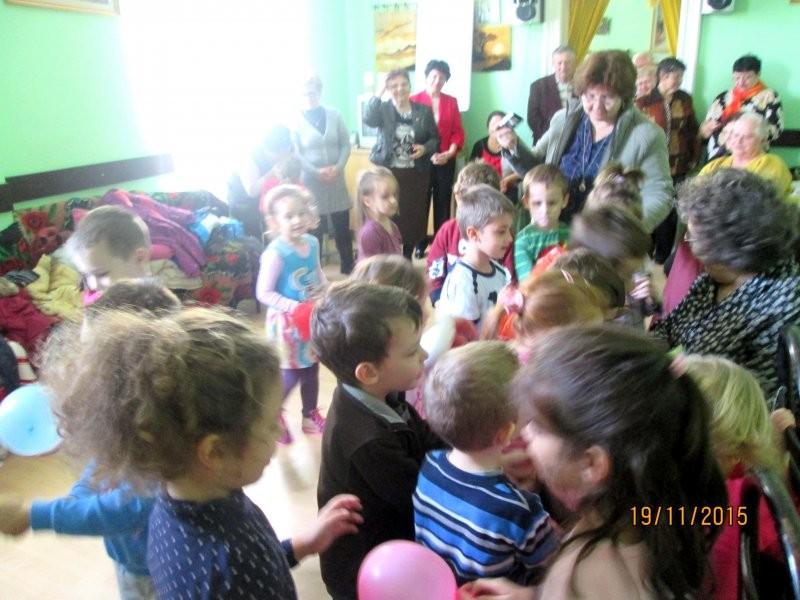 Ziua Porţilor Deschise la Centrul de Zi pentru Vârstnici Grădişte Arad